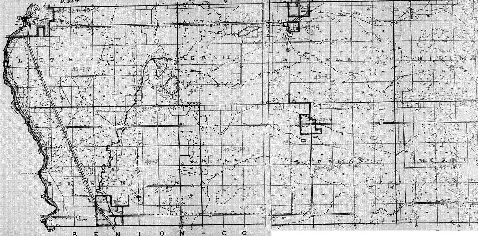 here s the map used by the census takers in 1940 tho no homes are marked just roads and physical features still those features seem different from what