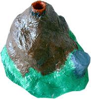 Cómo hacer un volcán casero, experimentos caseros, experimentos para feria de ciencias