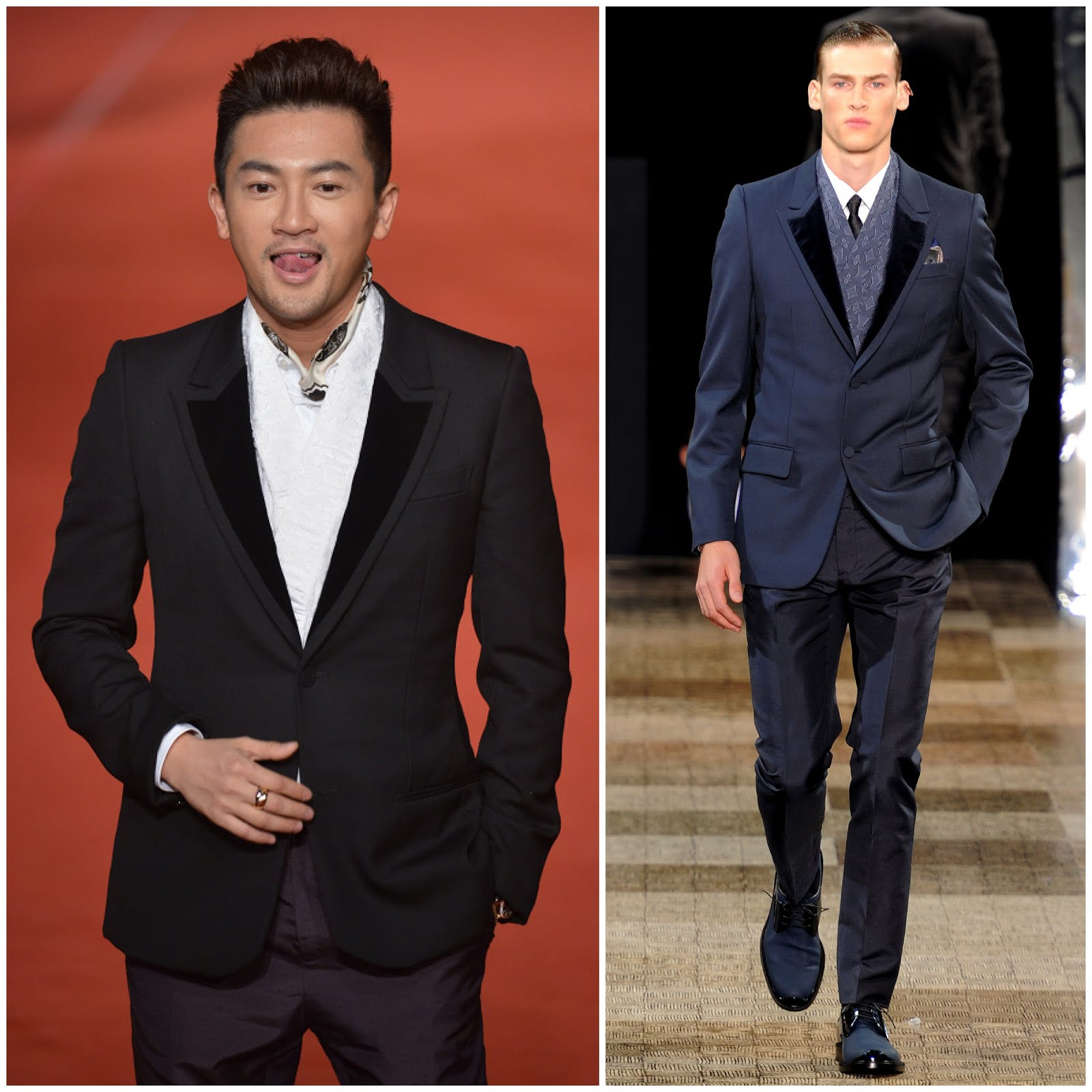 00O00 London Menswear Blog Celebrity Style Alec Su Youpeng in Louis Vuitton - 49th Golden Horse Awards [苏有朋盛装出席第49届台湾电影金马奖颁奖礼, 身穿路易威登晚礼服]