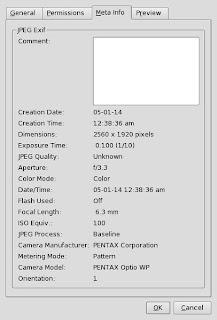 Exchangeable image file format è una specifica per il formato di file immagine utilizzato dalle fotocamere digitali.