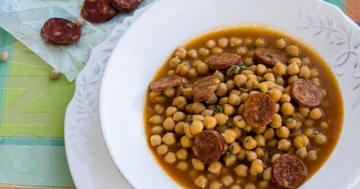 El que no mata engreixa potaje de garbanzos con chorizo for Cocinar garbanzos con chorizo
