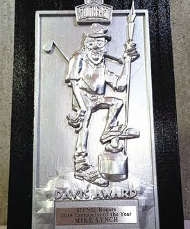 Mike Lynch Wins 2014 Jack Davis Award