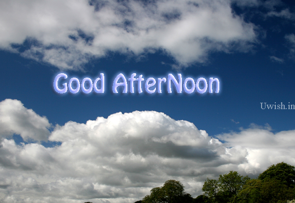 Its a hot noon outside. chill yourself.  Good Afternoon wishes and greetings.