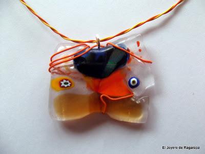 colgante naranja