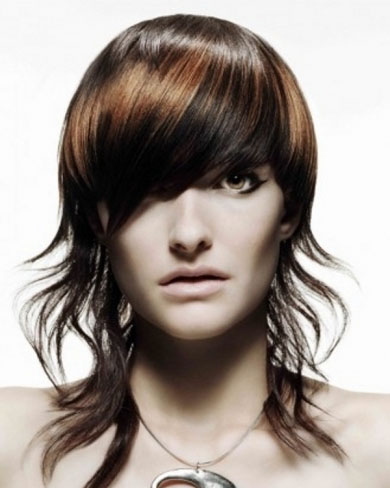 Brunette Hair Highlights 2014