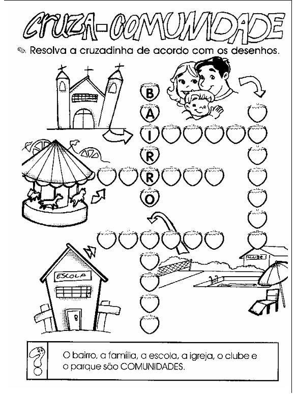 atividades alfabetizacao jardim horta pomar:ATIVIDADES CIÊNCIAS GEOGRAFIA HISTÓRIA 1° E 2° ANOS PARA IMPRIMIR