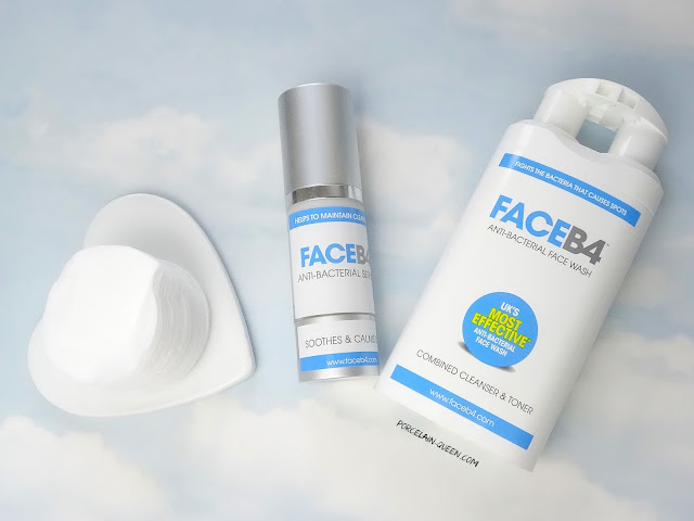 Face B4 Anti Bacterial Face Wash And Anti Bacterial Serum