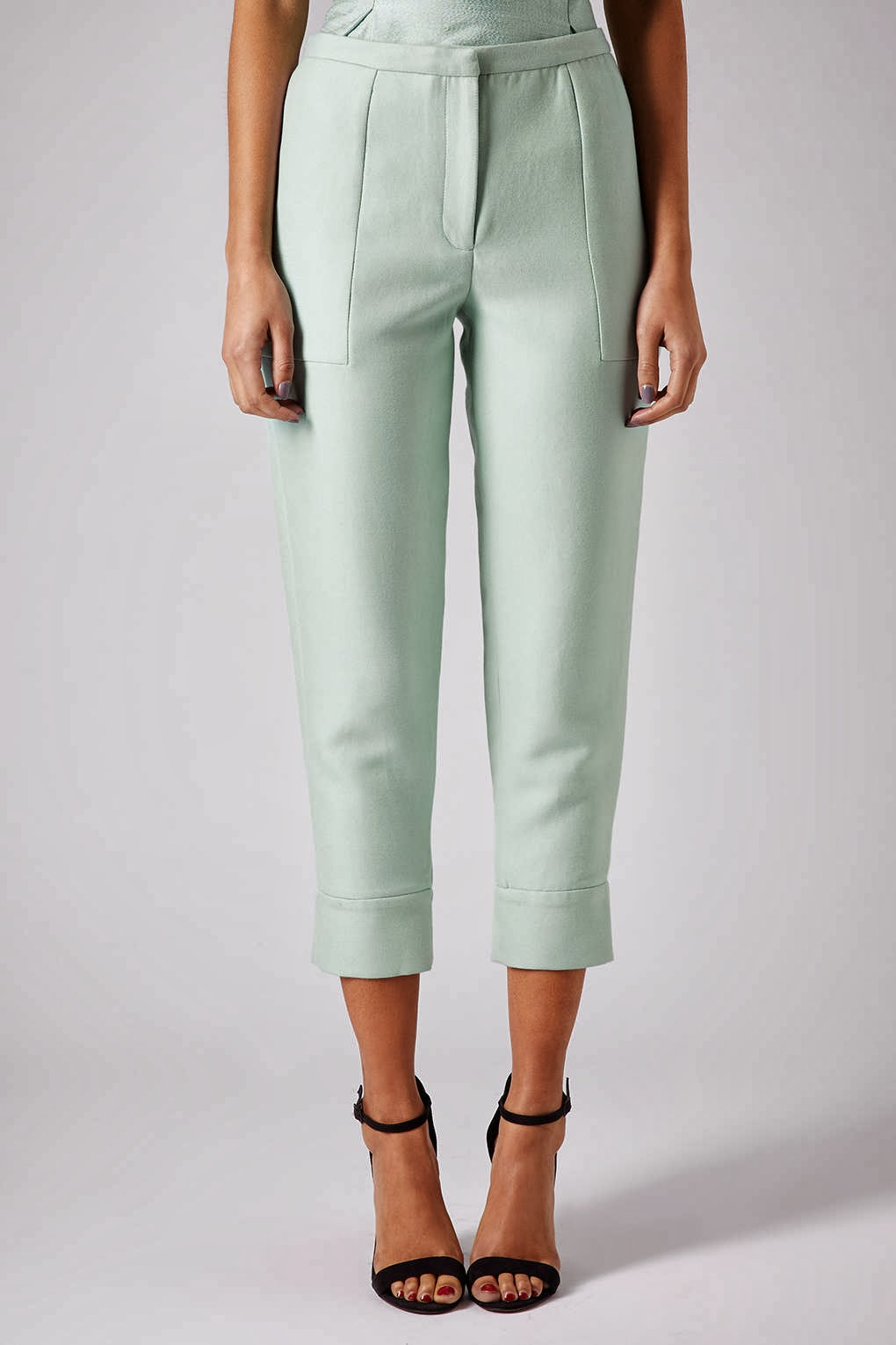 mint trousers