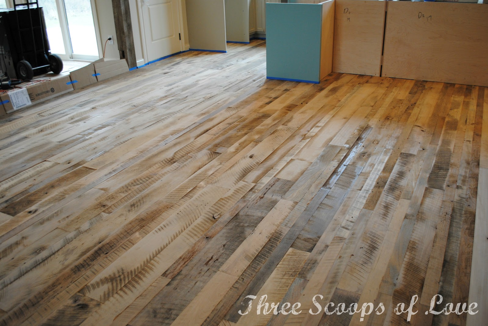 Three Scoops of Love: Our Wood Floor