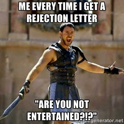 adams gaylord writes rejection letter meme