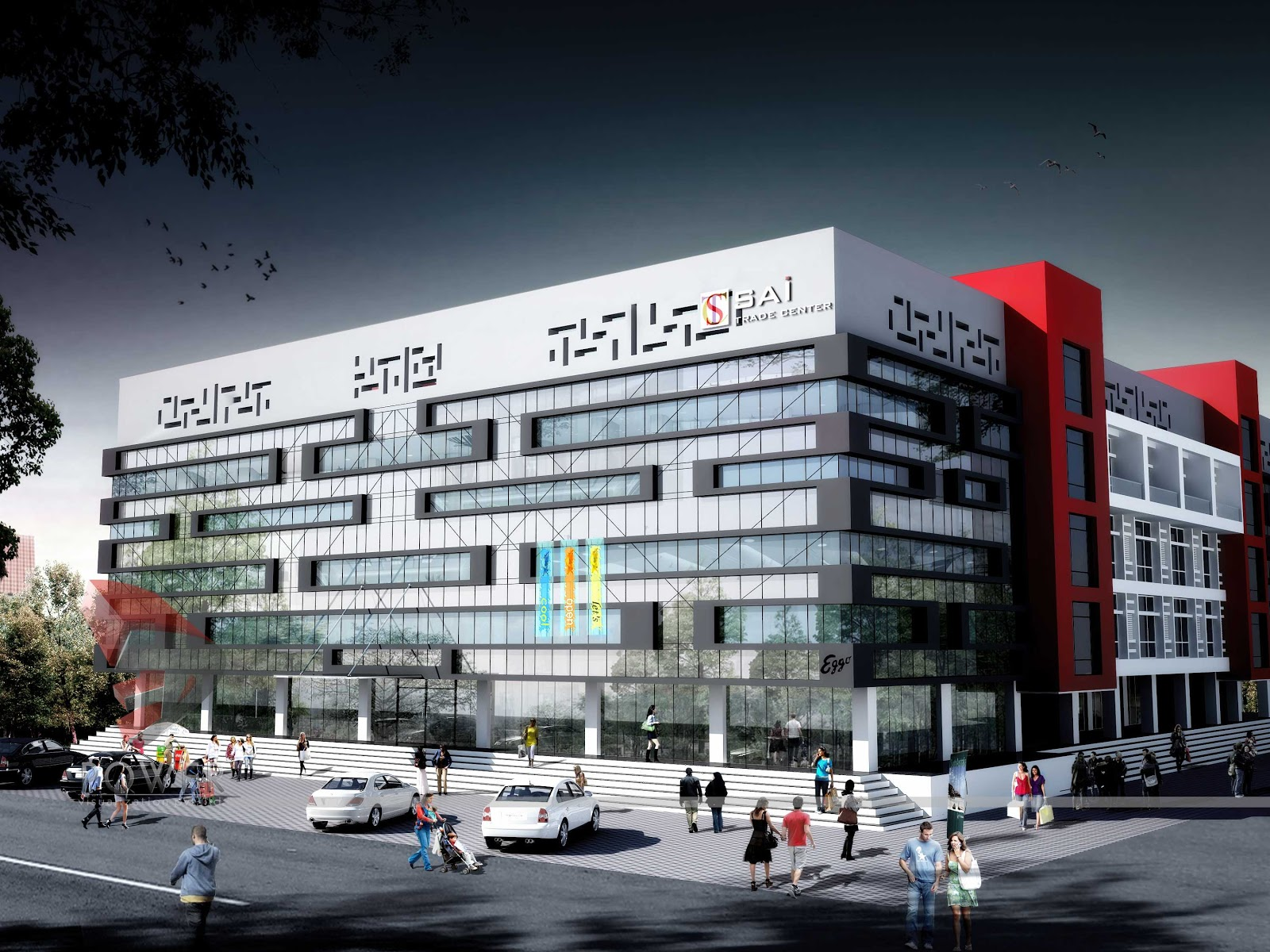 Corporate Office Building Design,Architecture Design Of Commercial Buildings