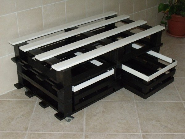 Table basse diy arda d co - Creer une table basse ...