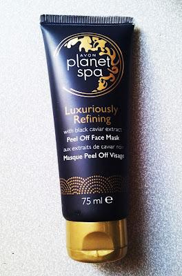 Avon Planet Spa Siyah Havyar Özlü Soyulabilen Maske