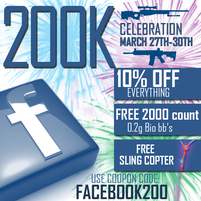 200k FB Promo AirSplat 200k Celebration! March 27th 30th!