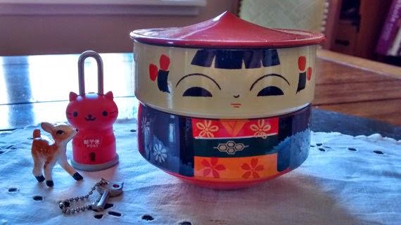 The Hoarderrehab Blog The Destiny Of Things Kokeshi Bento Box
