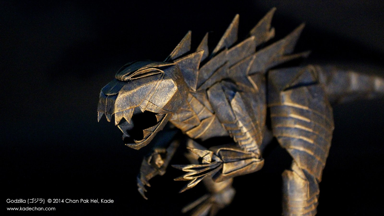 Origami Godzilla Kade Chan
