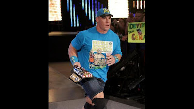 WWE Cena US Title Owens Seth Champion Rollins RAW
