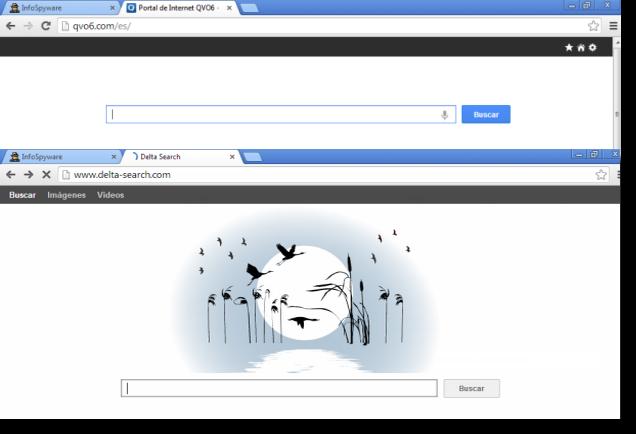 tip para eliminar el QVO6 de google Chrome internet explorer mozilla firefox