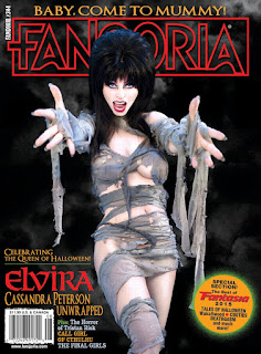 Cover of Fangoria #344 featuring Elvira