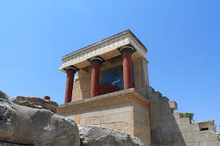 Plazzo di Cnosso Creta Knossos