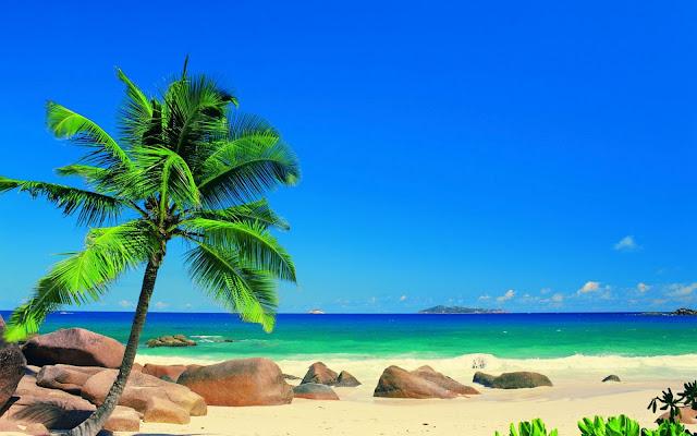 Paisajes Naturales Playas Islas Seychelles