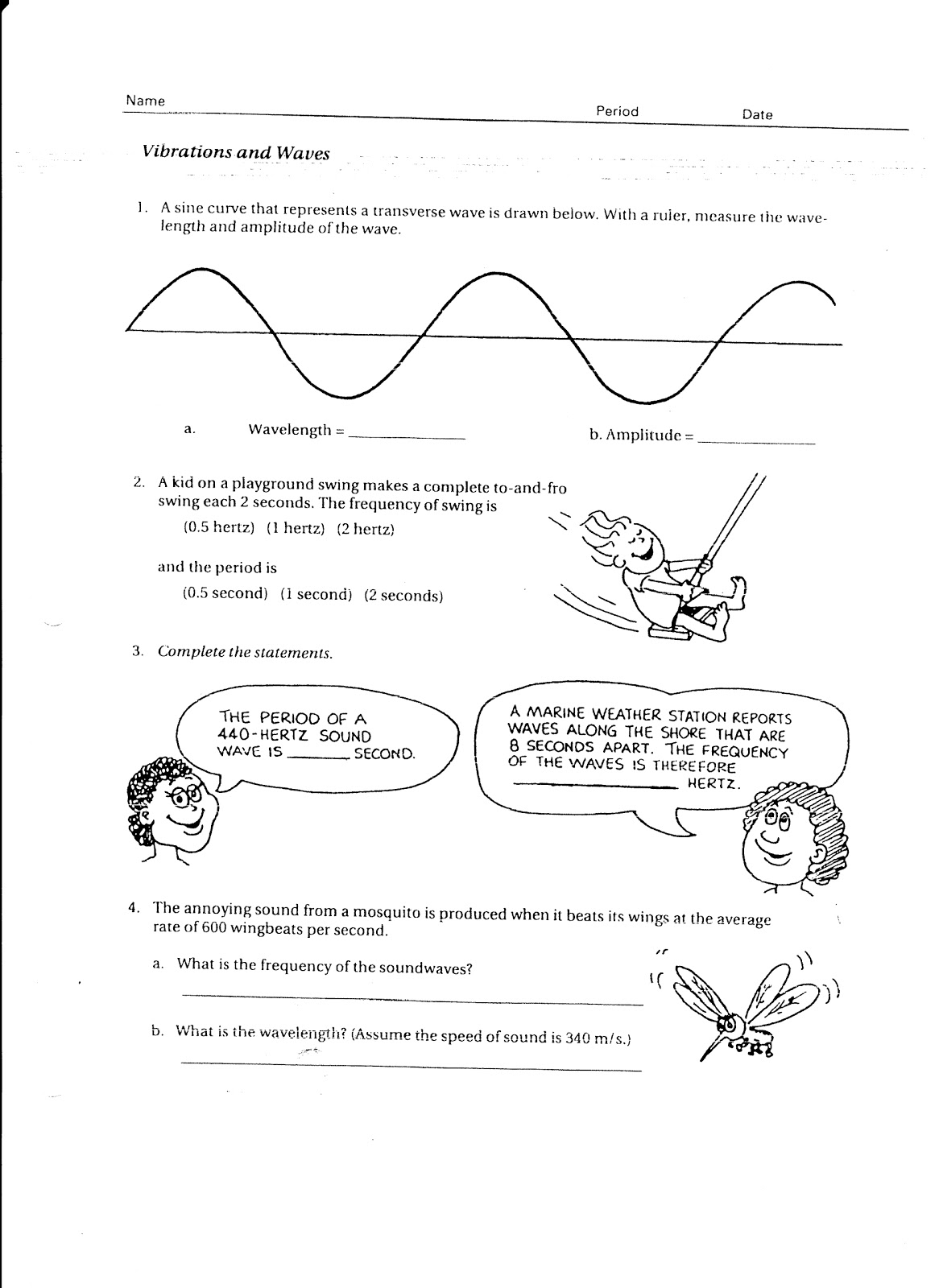 worksheet Sound Waves Worksheet sound waves worksheet abitlikethis worksheet