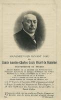 Amedée Visart de Bocarmé 1835-1927, burgemeester van Brugge