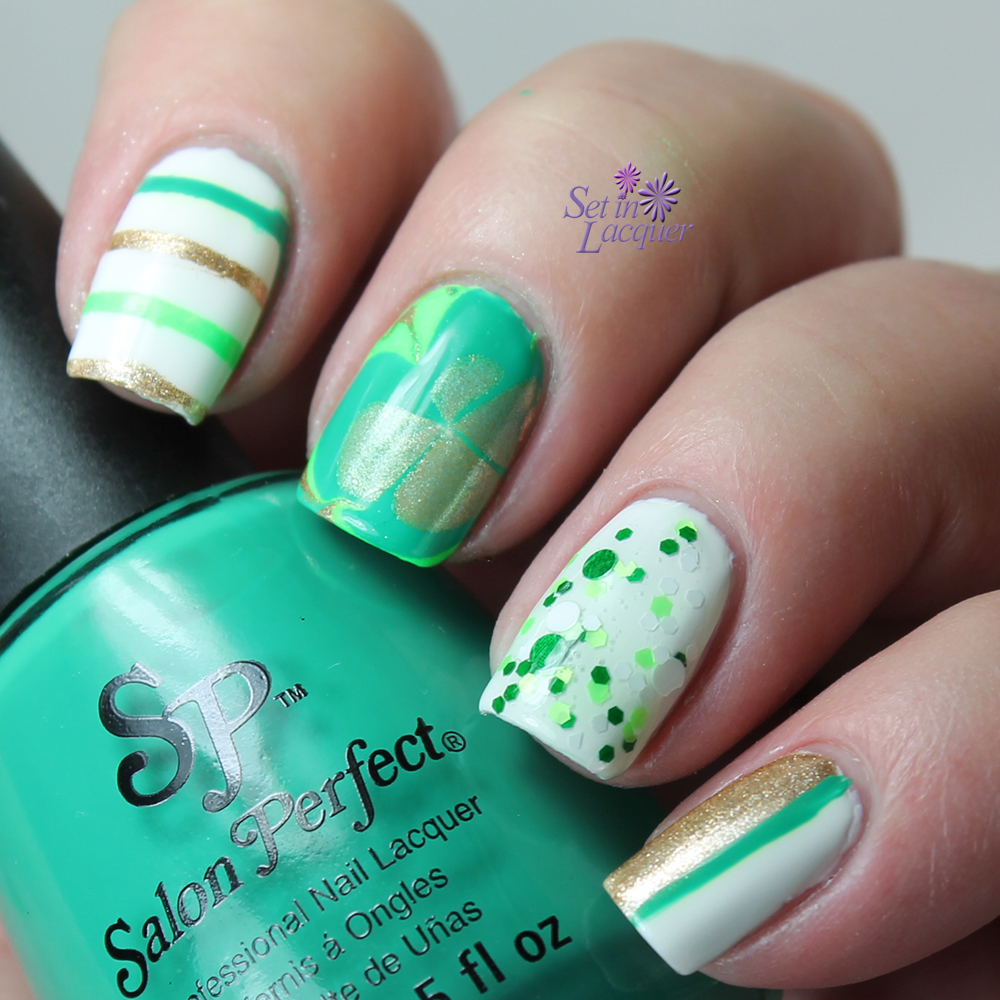 Set in Lacquer: st. patrick\'s day
