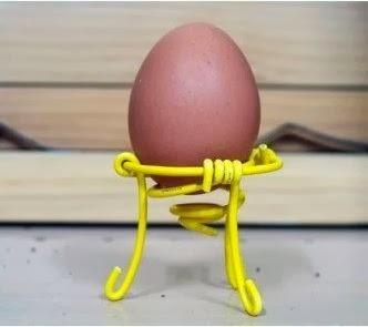 ... membuat kerajinan tangan dari barang bekas , pot dari kulit telur