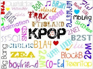 Tangga Lagu Korea