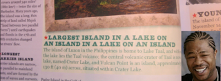 largest island in a lake on an island in a lake on an island