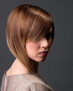 Light Brown Hair with Highlights Bob