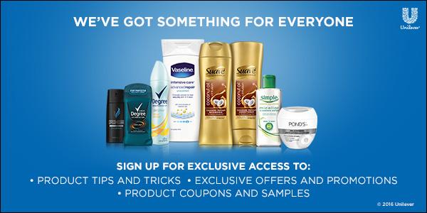 Unilever Samples!