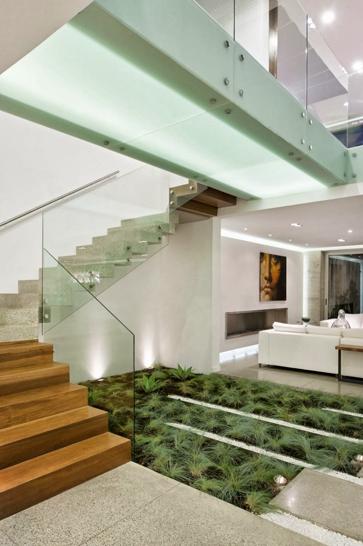 Vegetation in Modern dream home by Paz Arquitectura
