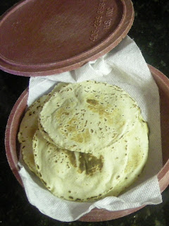 Honduran corn tortillas