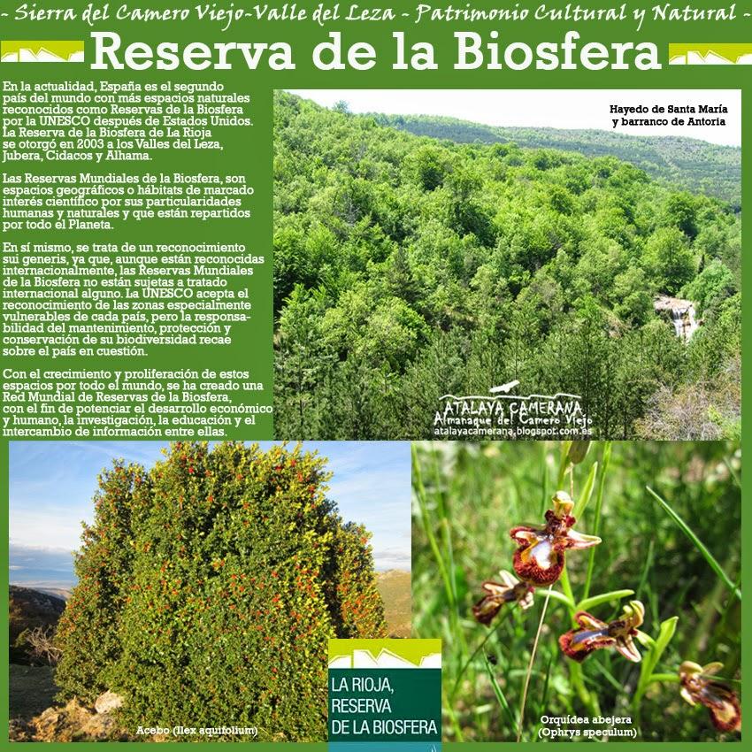 Sierra del Camero Viejo: Reserva de la Biosfera