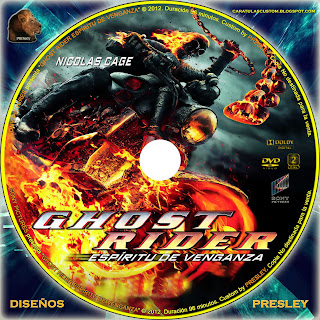 Download CARATULAS CUSTON: GALLETA GHOST RIDER ESPÍRITU DE VENGANZA