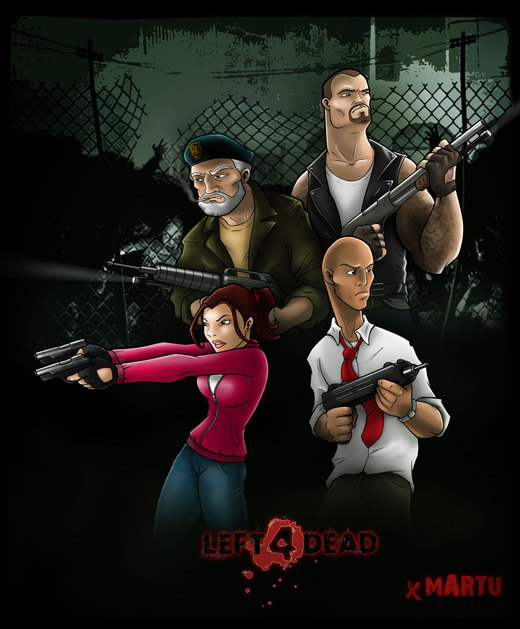 LEFT 4 DEAD por mARTu-Mandy