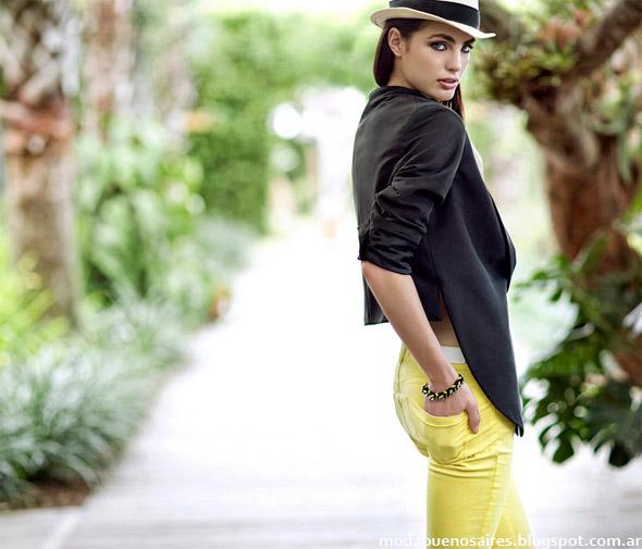 Paula Cahen D'anvers primavera verano 2013. Moda Argentina 2013.