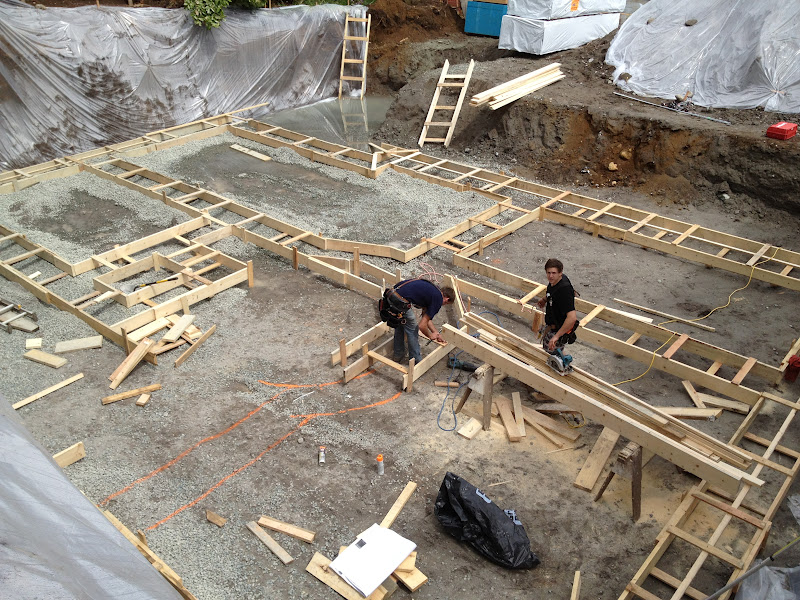 Ordinary How Long To Build A House After Foundation Is
