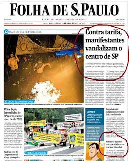 Protestos na Turquia = protestos em São Paulo?