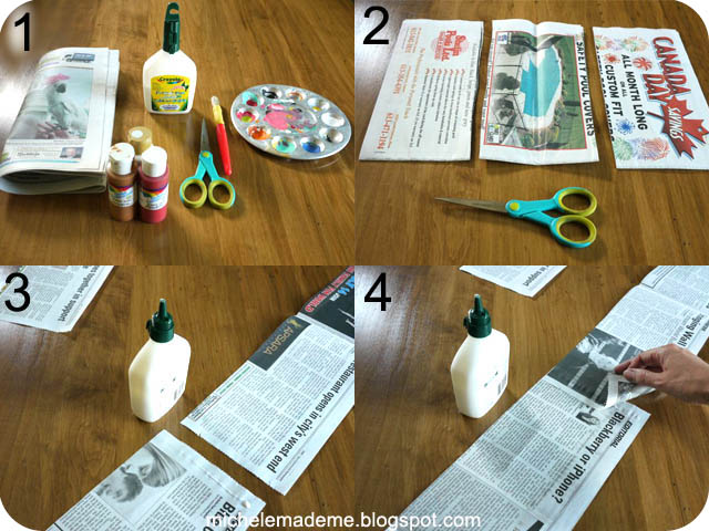 how to make newspaper roses youtube