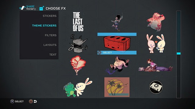 share factory update the last of us