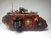 LAND RAIDER BLOOD ANGELS - WARHAMMER 40000 4