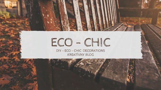 ECO CHIC kreatívny blog