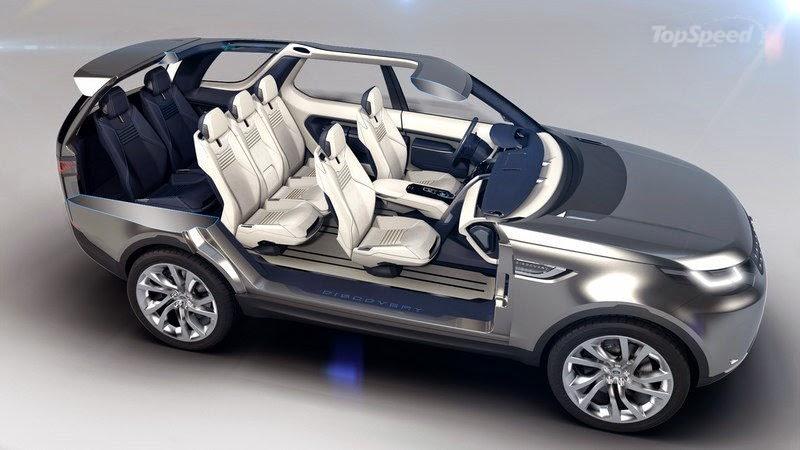 Land Rover 2016 capacidade de 7 lugares