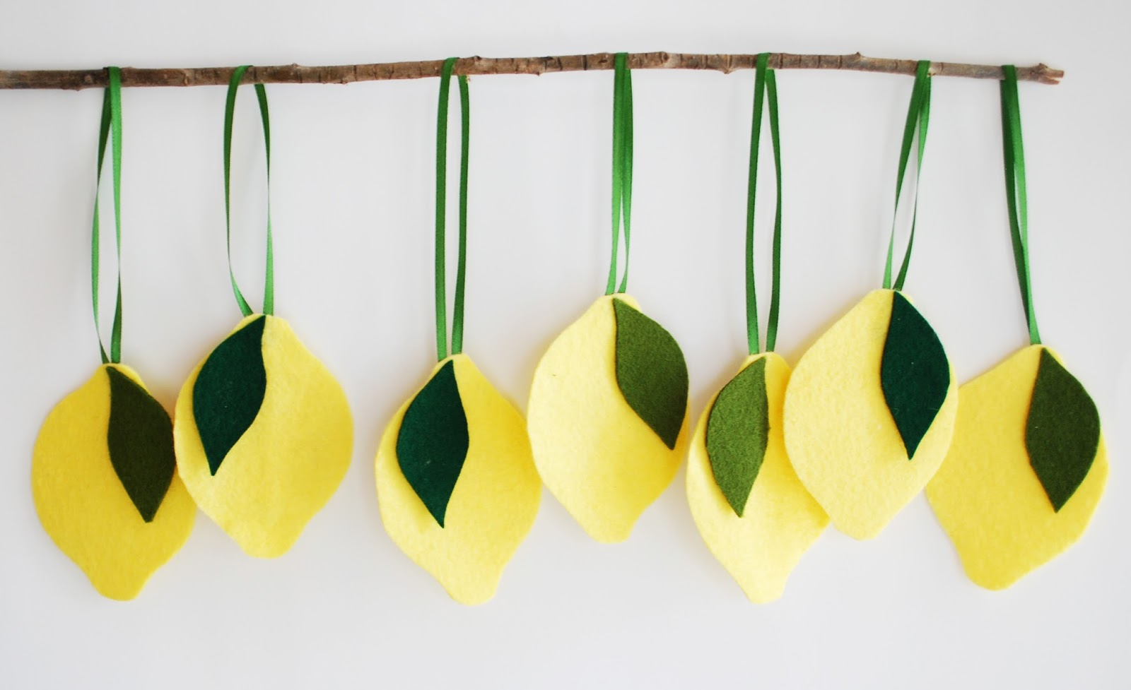 Mama Do That Lemon Birthday Decorations Made from Felt