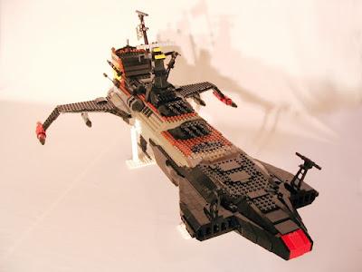 L'ATLANTIS D'ALBATOR EN LEGO Atlantis-arcadia-lego002