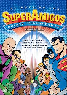 SÚPER AMIGOS: EL LEGENDARIO PROGRAMA DE LOS SÚPER PODEROSOS (1978) EL RETO DE LOS SUPER AMIGOS