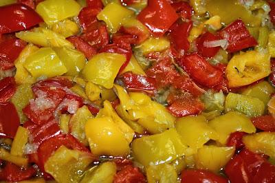 ricetta peperonata dietetica